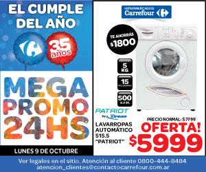 Carrefour - 9 de Octubre - Lavarropas - 300*250